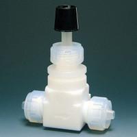 フロンケミカル テフロン 高圧ニードルバルブI型 8φ  NR0020-02 1個  (直送品)