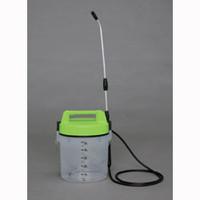 アイリスオーヤマ 電池式噴霧器 グリーン/クリア IRーN5000 1個  (直送品)