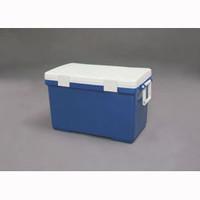 アイリスオーヤマ クーラーボックス ブルー/ホワイト CLー45 1個  (直送品)