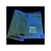 渡部工業 ワタベ 低圧透明シート300×500mm(300V以下) 303 1枚 436-3159 (直送品)