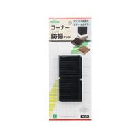 光 エッジ付防振(黒)  BG00-506 1セット(3パック:4個入×3)  (直送品)