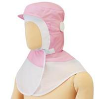 ミドリ安全 フード (ツバ付) マスク掛け 丸型 SH27P ピンク フリー 3189104720 1着  (直送品)
