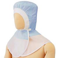 ミドリ安全 フード (ツバ無) マスク掛け無し SH30B ブルー フリー 3189105020 1着  (直送品)
