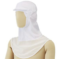 ミドリ安全 フード (ツバ付) マスク掛け無し SHー350W S 3189135203 1着  (直送品)