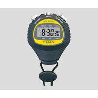 佐藤計量器製作所 デジタルストップウォッチ TM-100S 1台 2-9609-01 (直送品)