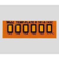 Wahl instruments 真空用テンプ・プレート 6点表示 101-6V-110 1箱(10枚) 2-9907-03 (直送品)
