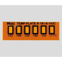 Wahl instruments 真空用テンプ・プレート 6点表示 101-6V-143 1箱(10枚) 2-9907-04 (直送品)