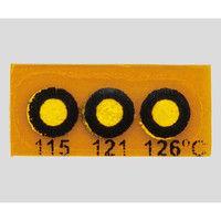 Wahl instruments 真空用テンプ・プレート 3点表示 430V-115 1箱(10枚) 2-9893-06 (直送品)
