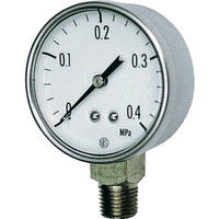 長野計器 小形圧力計 GK20-271-0.1MP 1個 169-3905 (直送品)
