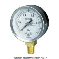 長野計器 JIS汎用形圧力計A枠(テーパ GS50-171-0.6MP 1個 277-2604 (直送品)