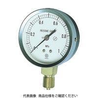 長野計器 JIS汎用形圧力計(A枠) GS51-131-0.1MP 1個 277-2680 (直送品)