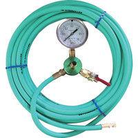 カンツール エアホース10m 圧力計付 HT-10-T 1本 333-9106 (直送品)