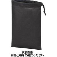 トラスコ中山(TRUSCO) 不織布巾着袋 黒 260X180MM (10枚入) TNFD-10-S 1袋(10枚) 477-9363 (直送品)