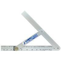 シンワ測定 アルミ自由金 角度目盛 筋交付 30cm 62660 (直送品)