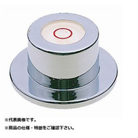 新潟理研測範 丸形レベル(ツバ付) 24X35X18  ML-35 1台  (直送品)