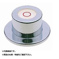 新潟理研測範 丸形レベル(ツバナシ) 24X20  ML-24 1台  (直送品)