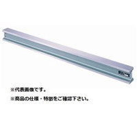 新潟理研測範 直尺 工型広巾ストレートエッヂA級 呼び寸(3m) KSA-3000 1台 (直送品)