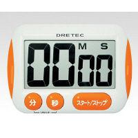 ドリテック(DRETEC) 大画面タイマー T-291・OR 1セット(3台) 1-8011-01 (直送品)