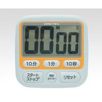 ドリテック(DRETEC) 時計付大画面タイマー T-140・OR 1セット(3台) 1-8009-01 (直送品)
