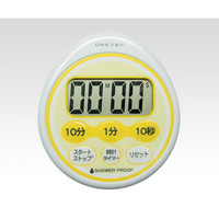 ドリテック(DRETEC) 時計付防滴タイマー T-543YE 1セット(3台) 1-8010-01 (直送品)