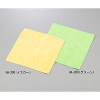 アイセン(Aisen) マイクロファイバークロス イエロー 300×200mm 1セット(20枚) 1-7205-21 (直送品)