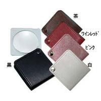 池田レンズ ポケットルーペ 白  3155-HW 1個  (直送品)