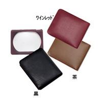池田レンズ ポケットルーペ 茶  3140-BR 1個  (直送品)