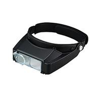池田レンズ 双眼ヘッドルーペ 補助レンズ付  BM-120DE 1個  (直送品)