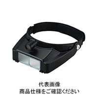 池田レンズ 双眼ヘッドルーペ ライト付  BM-120LC 1個  (直送品)