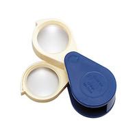 池田レンズ プラスチック枠ルーペ  7534 1個  (直送品)