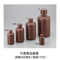 NIKKO(ニッコー) 細口瓶 1L HDPE製・遮光 1セット(30本) 2-5076-04 (直送品)
