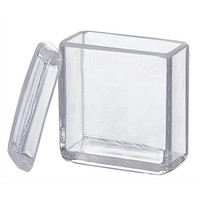アズワン 染色バット(ガラス) 15枚用 1セット(5個) 1-4398-01 (直送品)