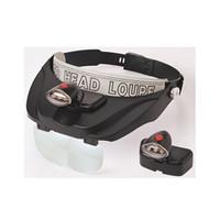 カートン光学 LED照明付きヘッドルーペ  R7502 1個  (直送品)