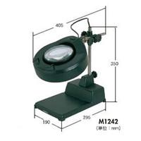 カートン光学 LED付拡大鏡 2倍  M1242 1個  (直送品)