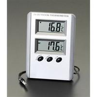 esco(エスコ) [室内・室外]最高・最低温度計(デジタル) EA728AC-13A 1セット(3個) (直送品)