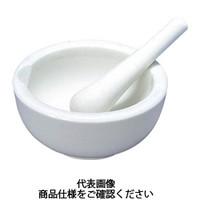 東京硝子器械 TGK 乳鉢磁製並150mm 乳棒付 194543104 1組 495-4190 (直送品)