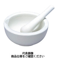 東京硝子器械 TGK 乳鉢磁製並90mm 乳棒付 194543102 1組 495-4173 (直送品)