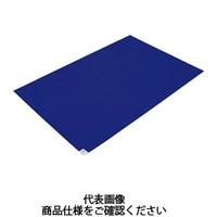 トラスコ中山(TRUSCO) 粘着クリーンマット 600×1200MM ブルー 1シート 30枚 CM6012-1B 767-9297 (直送品)