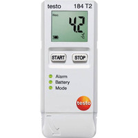 テストー(TESTO) 温度データロガ TESTO184T2 1台 494-1608 (直送品)
