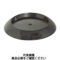 トラスコ中山(TRUSCO) 受け皿 64MM 黒 10個入 TUK630-BK-10 1袋(10個) 765-8982 (直送品)