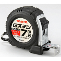 タジマ コンベックス Gステンロック-25 7.5m 25mm幅 メートル目盛 GSL2575BL メジャー (直送品)