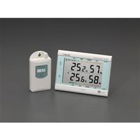 esco(エスコ) [室内・室外]最高・最低温度計(無線式) EA742MJ-10 1個 (直送品)