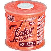 たくみ 7COLOR 極太 オレンジ 130M 4808 1個 751-5359 (直送品)
