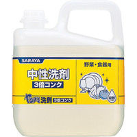 サラヤ(SARAYA) ヤシノミ洗剤3倍コンク5KG 30820 1個 753-6925 (直送品)