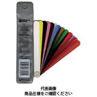 プレシジョンブランド プラスチックシクネスゲージ扇形キット127mmブレード13本 PB127PTG78905 1セット(13個入)  (直送品)