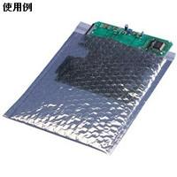 DESCO 静電気防止シールディングバブルバッグ、102mmx127mm、入数10 12800 1セット(100個:10個入×10ケース)  (直送品)