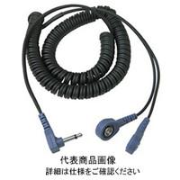 DESCO コード、コイル式、2線方式、1.83m、4mmx2L型端子 19862 1セット(10個入)  (直送品)