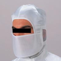 ミドリ安全 クリーンルーム用マスク・ゴーグル クリーンマスク メッシュマスク ホワイト フリー 3189800220 1枚 (直送品)