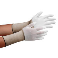 ミドリ安全 クリーンルーム用手袋 作業手袋 MCGー500Nロング(手のひらコーティング) SS 10双/袋 4045850070 1袋(10双入) (直送品)