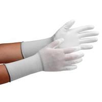 ミドリ安全 クリーンルーム用手袋 作業手袋 MCGー500Nロング(手のひらコーティング) L 10双/袋 4045850073 1袋(10双入) (直送品)